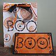 """Halloween Gift Bag & Card"" by Sue McGettigan"