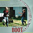 """""""Boot"""" layout by Janine Cobb"""