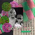"""Beautiful"" layout by Janine Cobb"