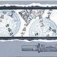 """Blue and White Oriental Card "" by Sue McGettigan"
