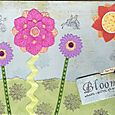 """Bloom Where You're Planted"" journal page by Sue McGettigan"