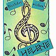 """Birthday Card for Helene"" by Keri Brooks-LaClair"