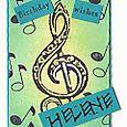 """Birthday Card for Helene"" by Keri Brooks-LaClair"