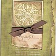 """Grateful"" Card by Keri Brooks-LaClair"