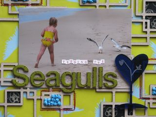 Feeding the seagulls upclose#1