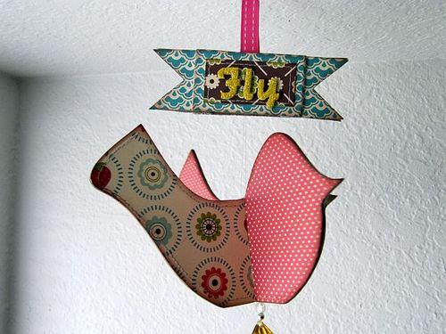 Fly free bird detail 3