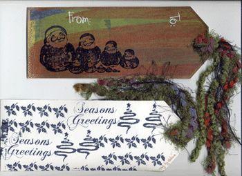 """Christmas 2005 Tag Swap"" by Helene"