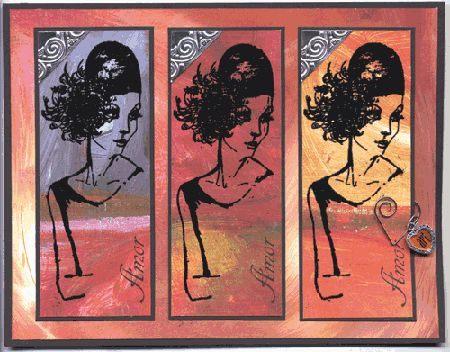 """Amor"" Card by Helene"