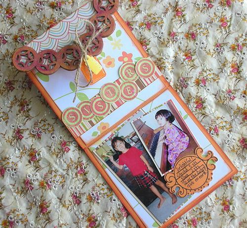 Aida Haron - Sisters Mini Book - 2 open