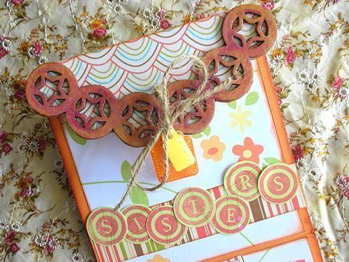 Aida Haron - Sisters Mini Book - 5 closeup