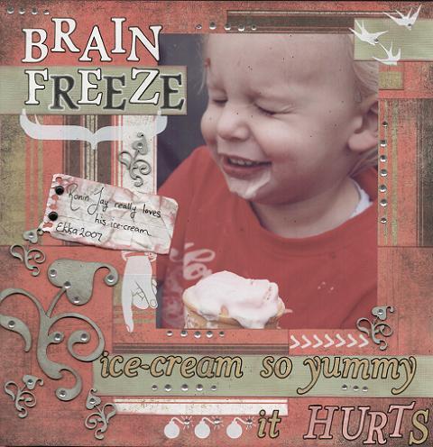 Cassandra Glass - Brain Freeze