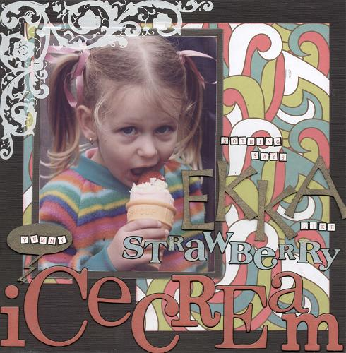 Cassandra Glass - Ice cream